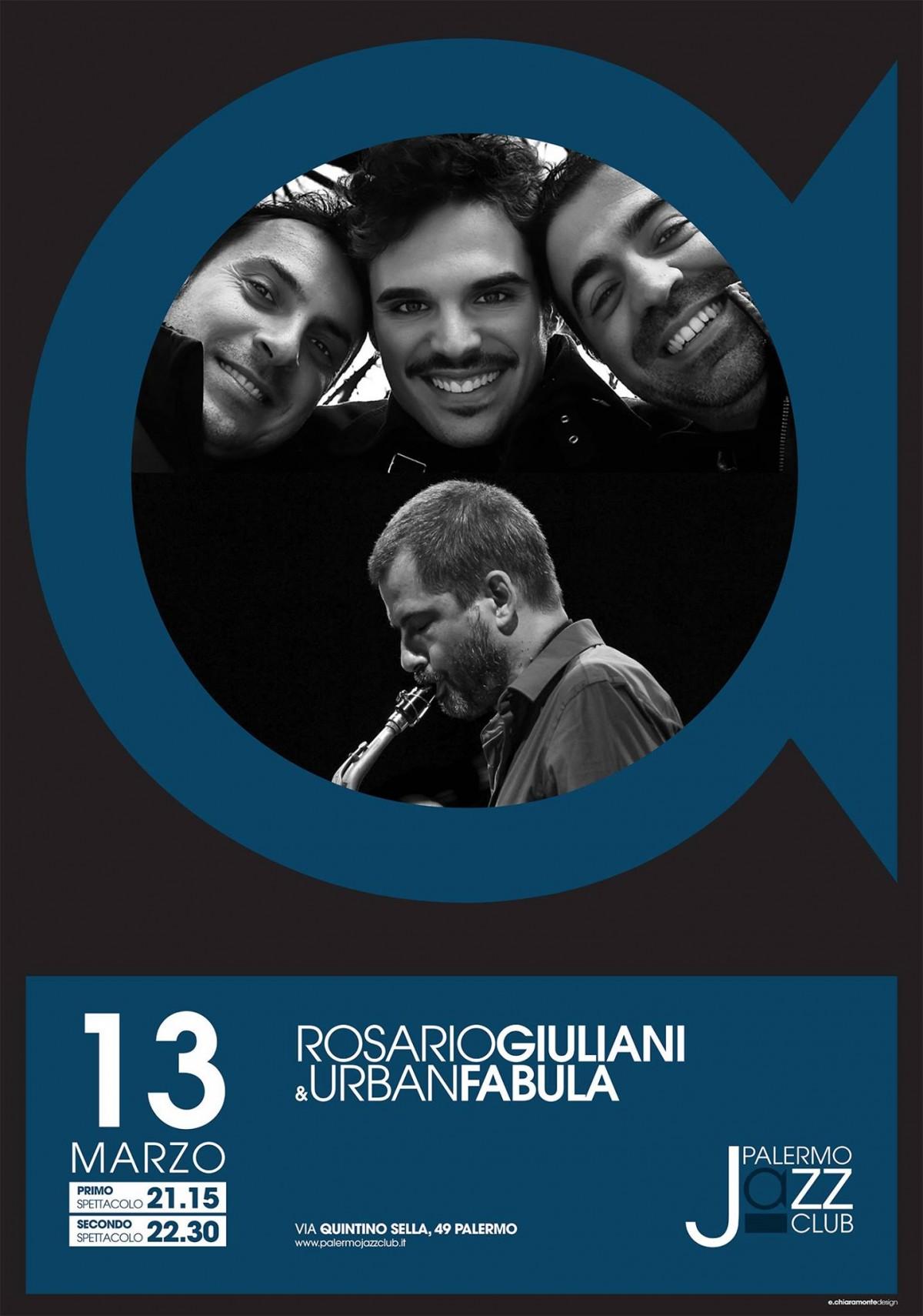 Rosario Giuliani & Urban Fabula @ Palermo Jazz Club