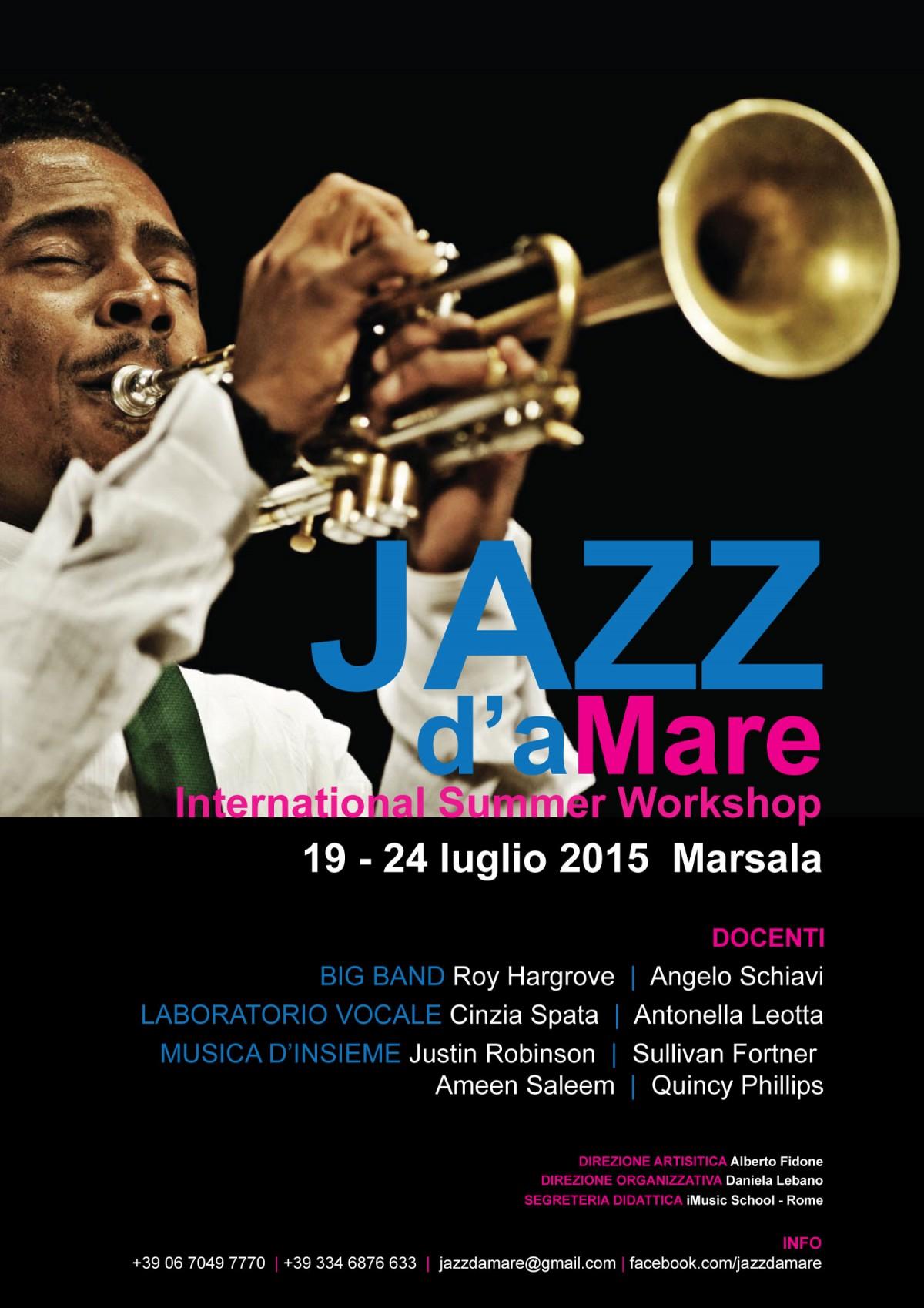 Locandina_Jazz damare_Roy